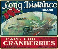 cape cod cranberries crate - Google Search