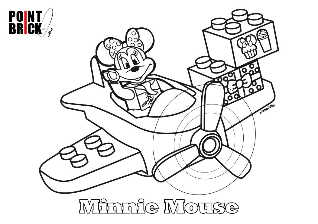 Disegni da colorare lego duplo disney minnie mouse for Disegni di minnie da colorare