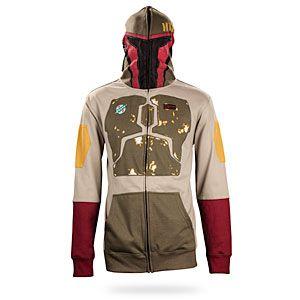 Where's the Yoda hoodie? Lol! Boba Fett hoodie! So Cool!