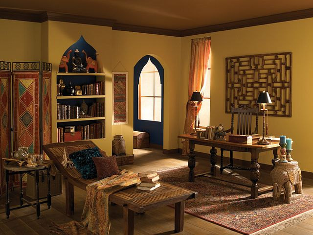 Indian Office Indian Theme Indian Bedroom And Wall Colors