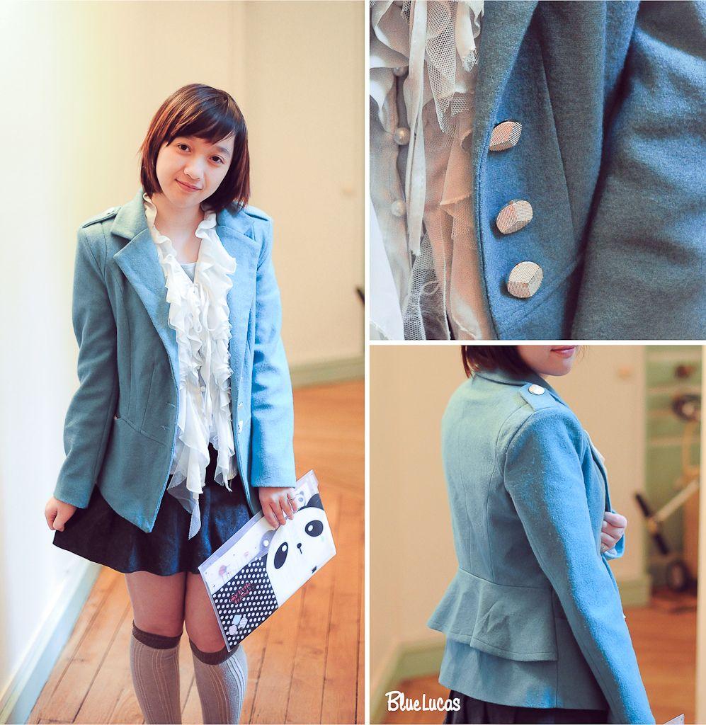 Blue blazer