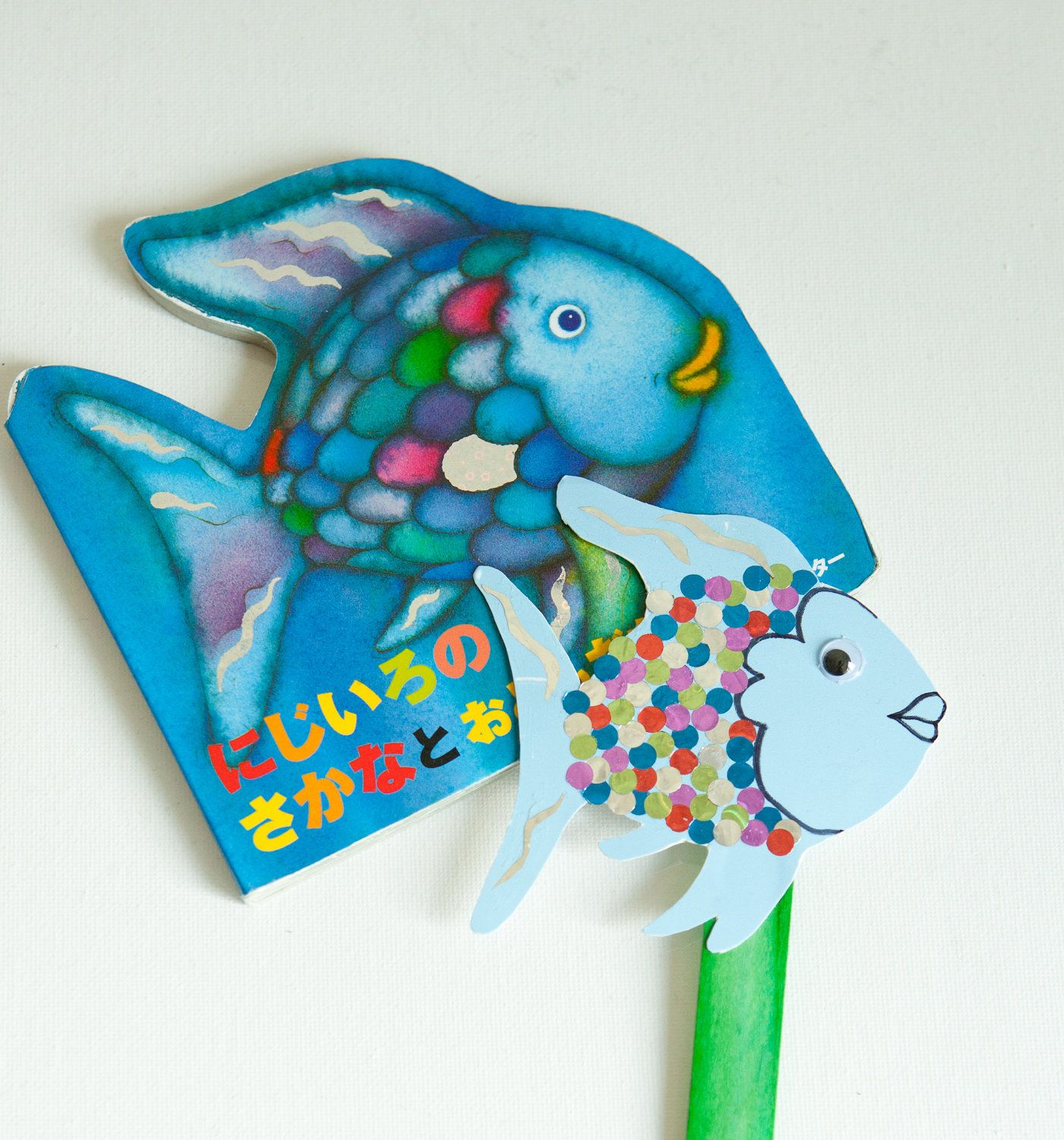 Rainbow Fish Puppet
