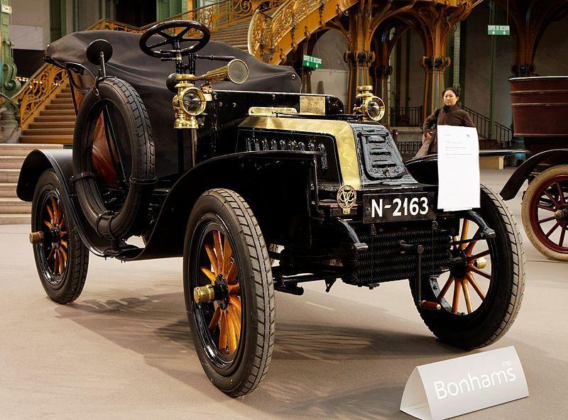 De Dion Bouton Type Q 6 Cv Populaire 1903