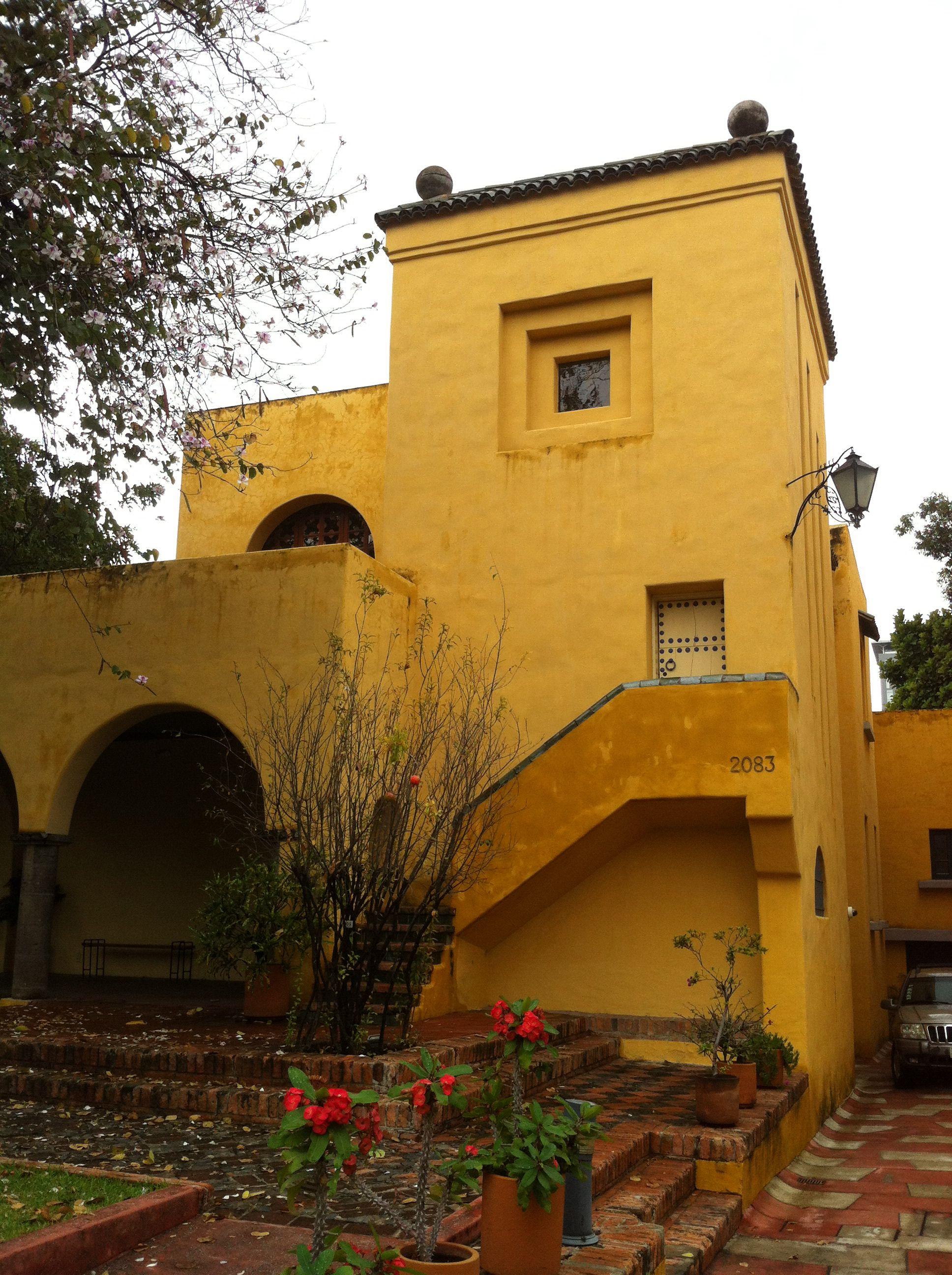 Casa Clavigero 1929 By Mexican Architect Luis Barragán Guadalajara Arquitectura Arquitectura Mexicana Luis Barragan