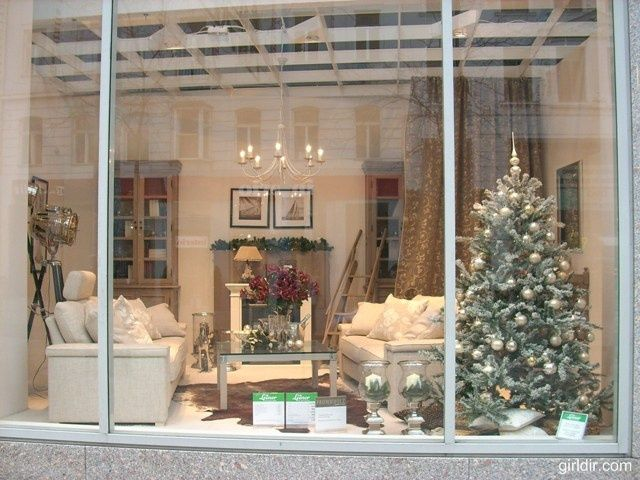 Christmas Decorations | ... Window Decorating Ideas 1 580x435 Christmas  Window Decorating Ideas 1 | Christmas | Pinterest | Window, Christmas Window  ...