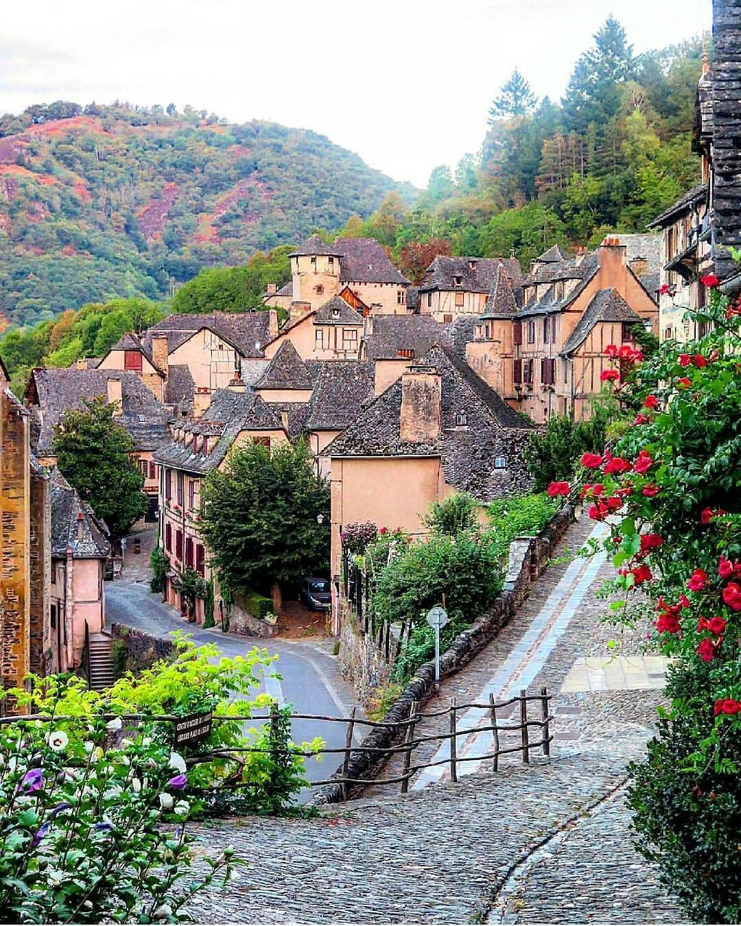 "conques france #kings_villages (@kings_villages): ""tag"