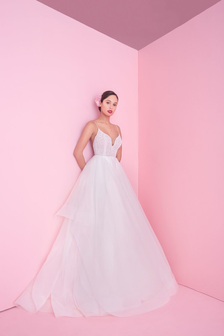 150526867422 Blush by Hayley Paige Spring 2019 Wedding Dress Collection | Wedding ...