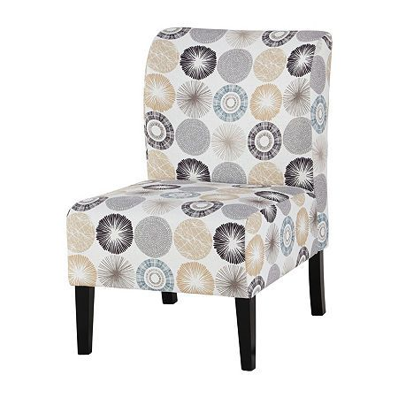 Signature Design By Ashley Triptis Slipper Chair Armless Accent