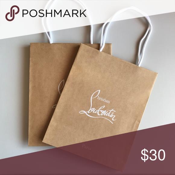 Christian Louboutin Shopping Bags Medium Great Condition Shopping