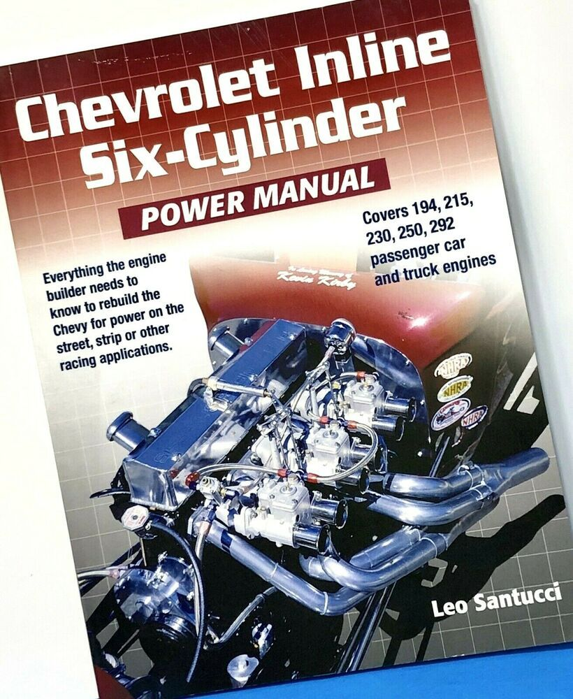Details about chevrolet inline sixcylinder power manual
