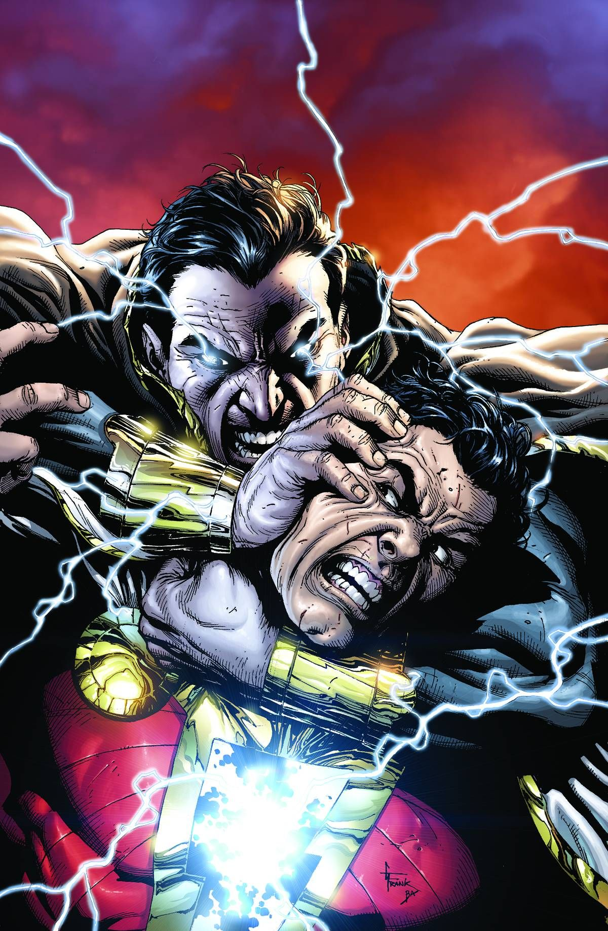 Black Adam Vs Captain Marvel From Justice League 21