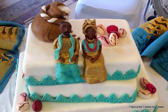 nigerian traditional wedding cake traditional wedding cakes food 1 nairaland 17848