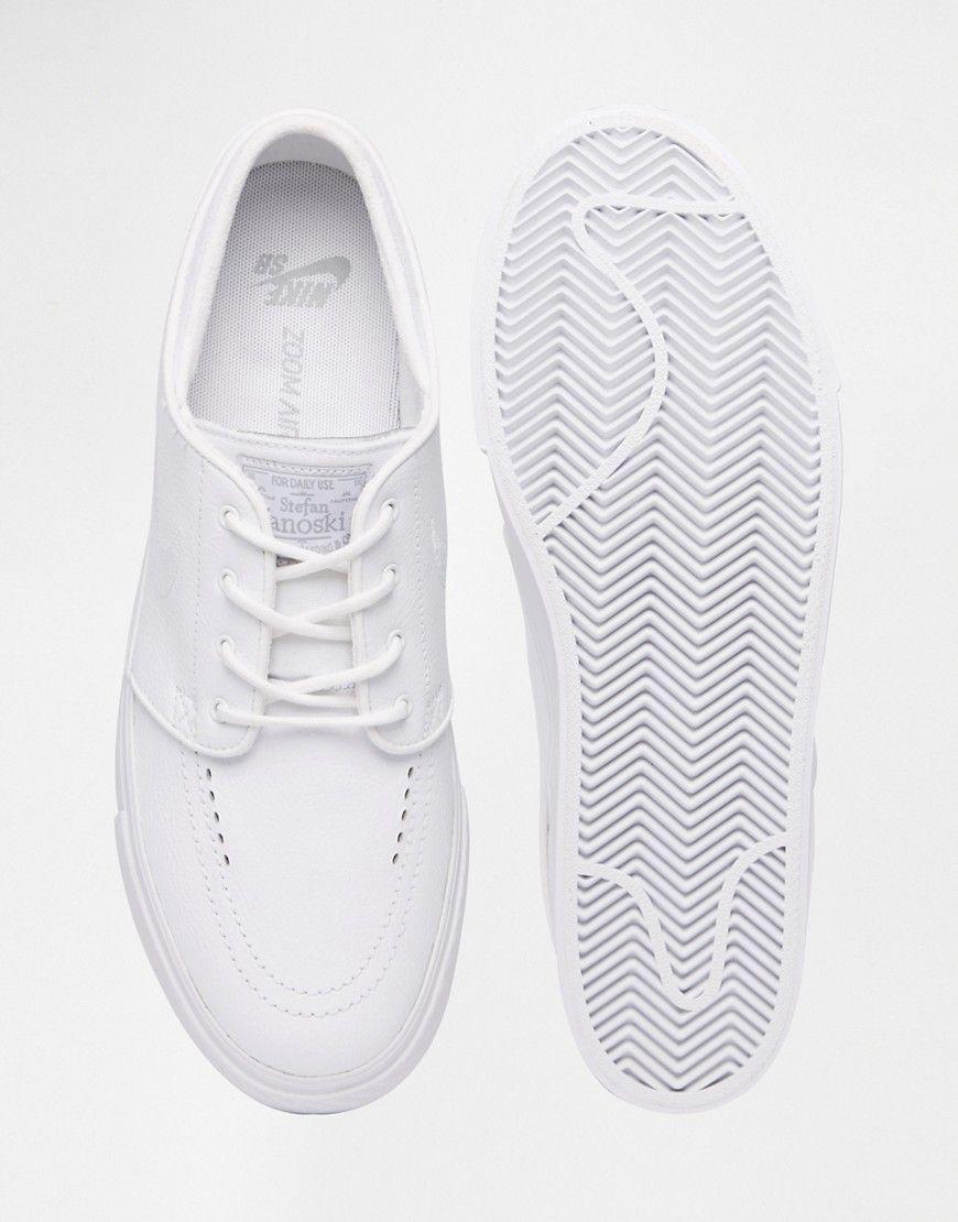 Nike SB Stefan Janoski Leather 'Triple