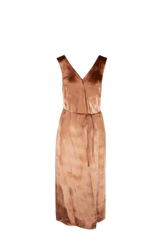 Vince Panne Rose Gold Sleeveless Wrap Dress Mitchell Stores Source By Llfstudio Sleeveless Wrap Sleeveless Wrap Dress Wrap Dress Latest Fashion Design [ 1500 x 1000 Pixel ]