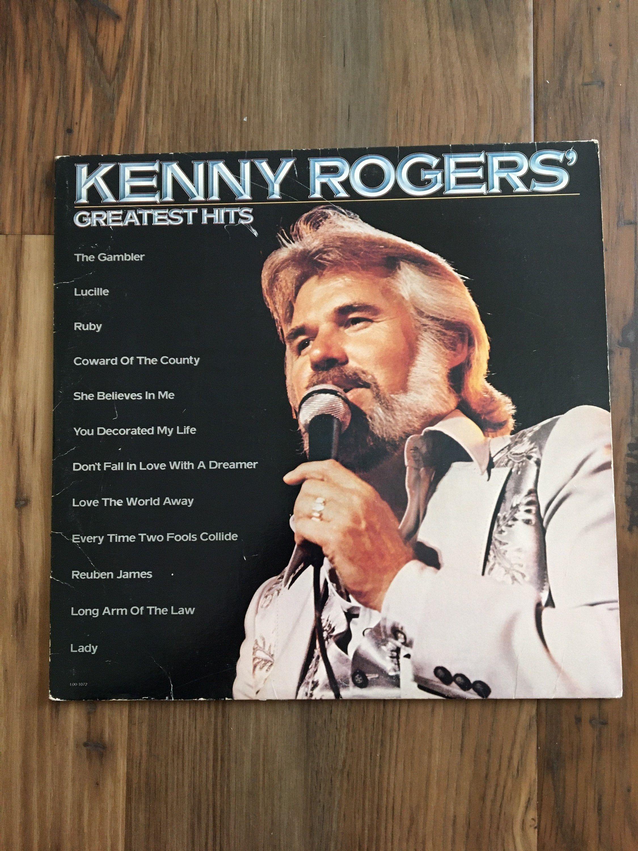 Kenny Rogers Greatest Hits Vintage Vinyl Lp Album Liberty Etsy In 2020 Greatest Hits Lp Albums Vintage Vinyl Records
