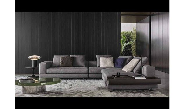 Design Bank Minotti.Minotti White Bank Living Room Woonruimtes Interieur En Zitkamers