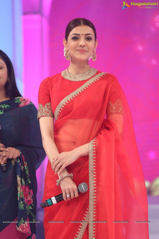 Kajal Aggarwal Set 2 Image 31 Telugu Actress Images Telugu Movie Actress Photos Telugu Photoshoot Indian Bridal Fashion Red Saree Indian Actresses