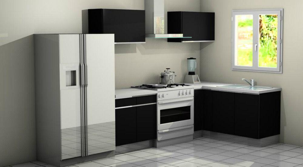 Cocina integral en escuadra cocinas cocinas cocinas for Cocinas modernas para apartamentos