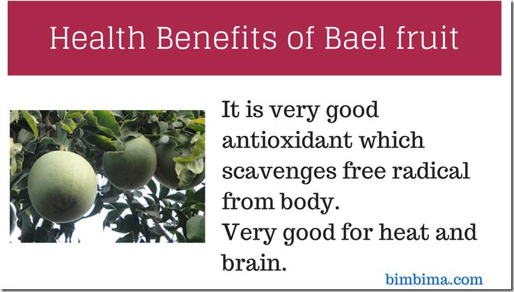 Bael Fruit Juice Benefits
