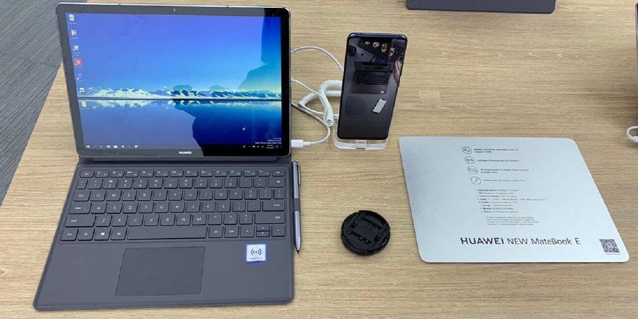 Matebook E Das Notebook Mit Snapdragon Soc Und Windows 10 Tastatur Nicht Interessiert Und Vorstellung