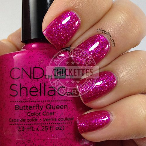 Queen Gel Nail Polish: CND Shellac Garden Muse Collection