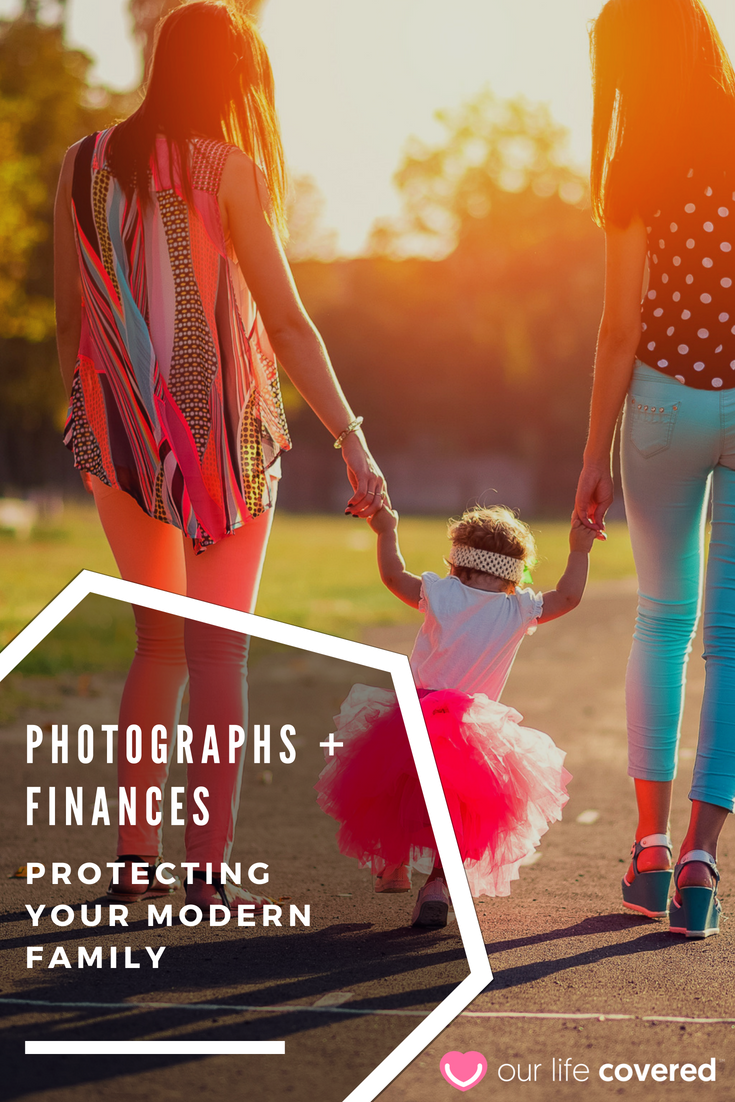 Photographs + Finances Protecting Your Modern Family