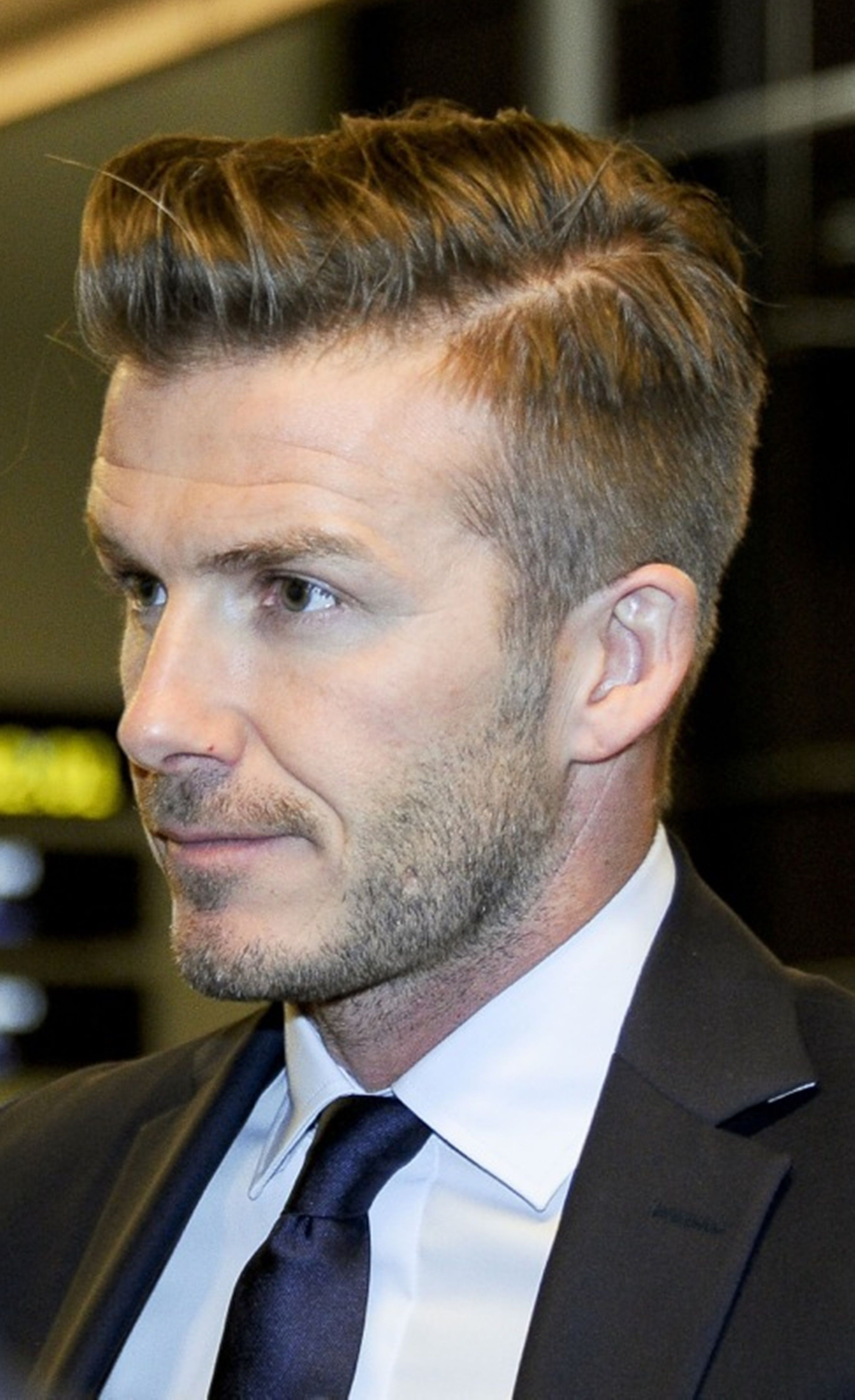 David Beckham Mens Hairstylesgrooming Pinterest