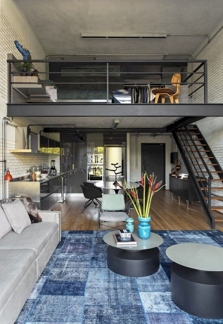 Fall In Love With This Industrial Loft Design Loft Apartment