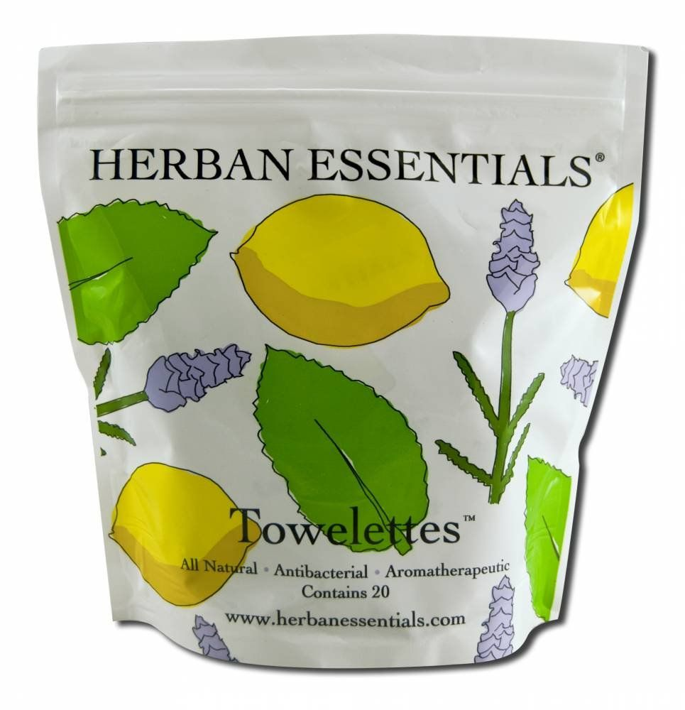 I always keep these tucked in my bag, for emergencies. Lemon is refreshing, peppermint is cooling, and lavender is healing for the skin-- especially after being in the sun! // Herban Essentials Towelettes, Mixed Bag 20-Count