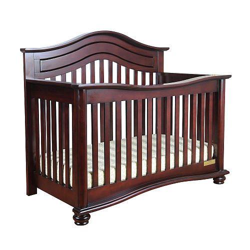 Jordana Lia Convertible Crib Cherry Baby Mile Babies R Us Convertible Crib Cribs Baby Cribs