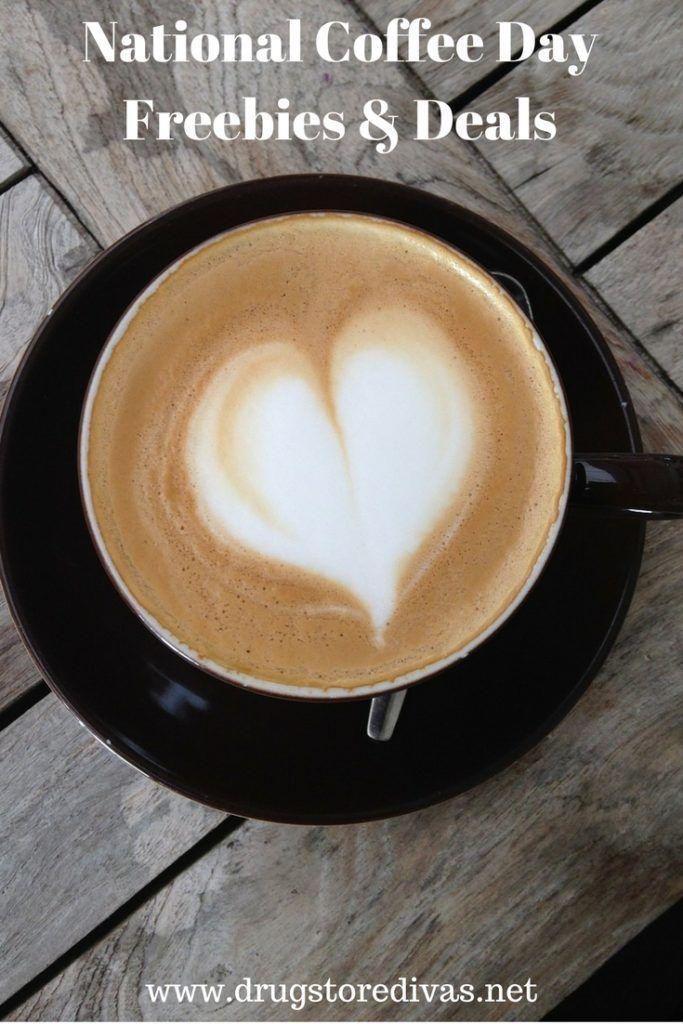 National Coffee Day Deals 2019 nationalcoffeedayideas