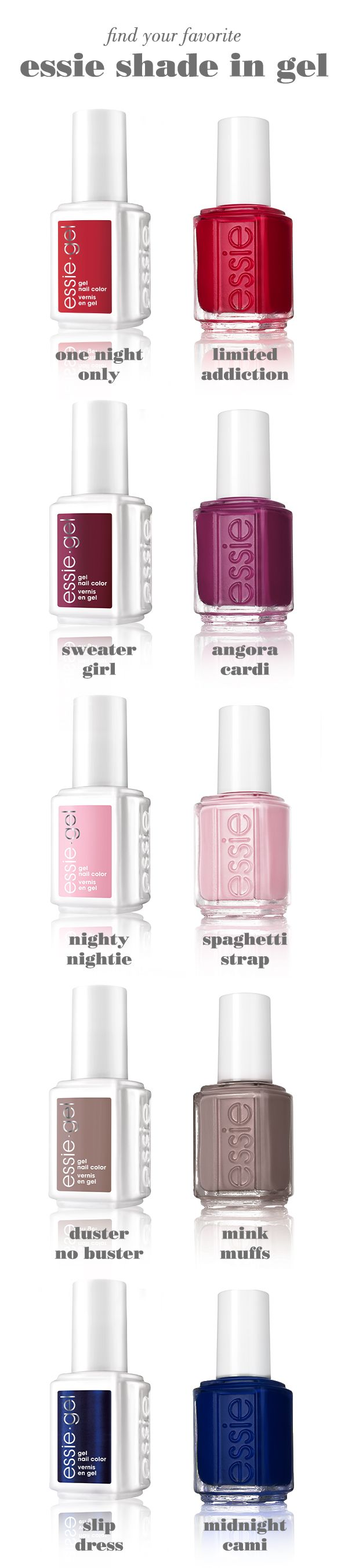 Now your essie manicure lasts even longer. Brush on the gel polish ...