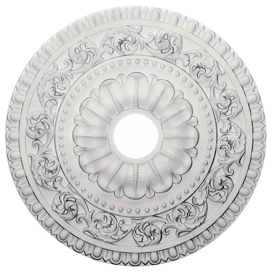 pd ekena traditional medallion in millwork ceiling x shop polyurethane