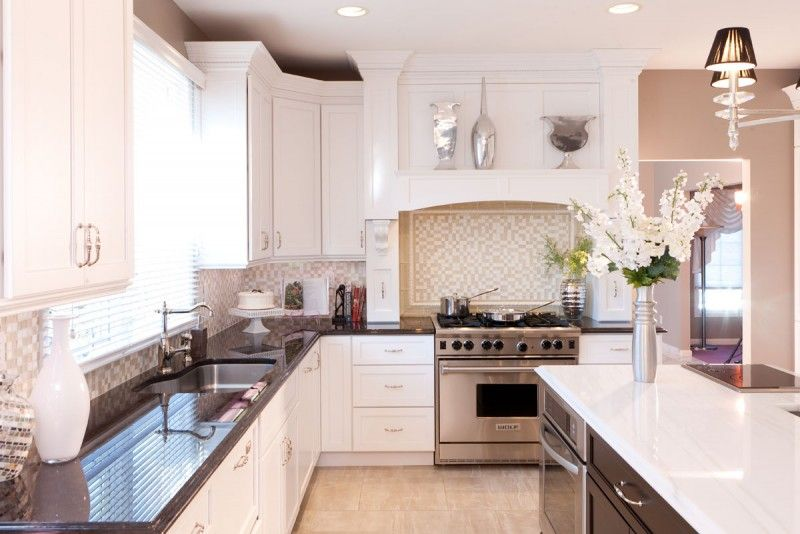 Candlelight Cabinetry Madison Full Overlay Paint Grade Snowflake