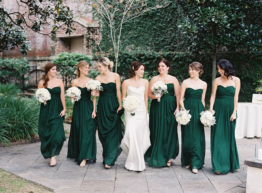 Jewel Toned Dresses Inspired By Golden Globe Gowns Emerald Green Bridesmaid Dresses Green Bridesmaid Dresses Forest Green Bridesmaid Dresses