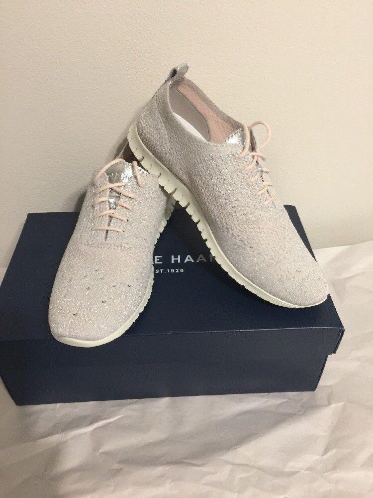 44f0a5b06ba33 COLE HAAN Women's Zerogrand Stitchlite Oxford Shoes Size 8 Blush NIB ...