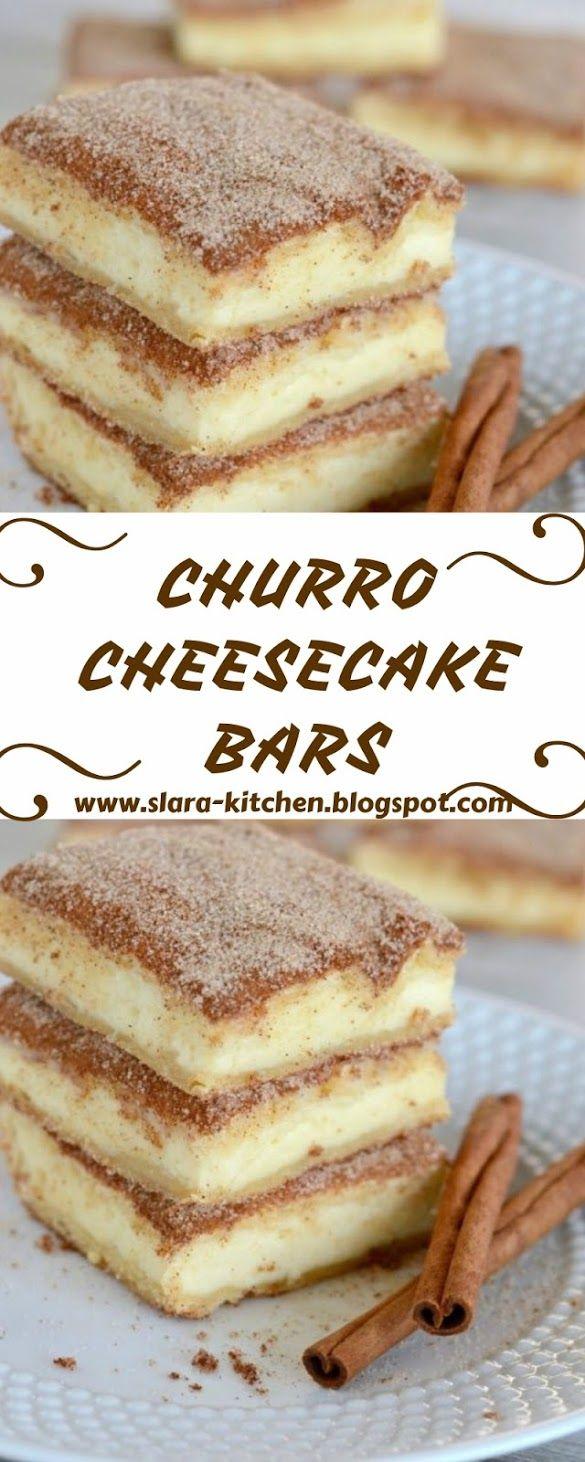 CHURRO CHEESECAKE BARS #churrocheesecake