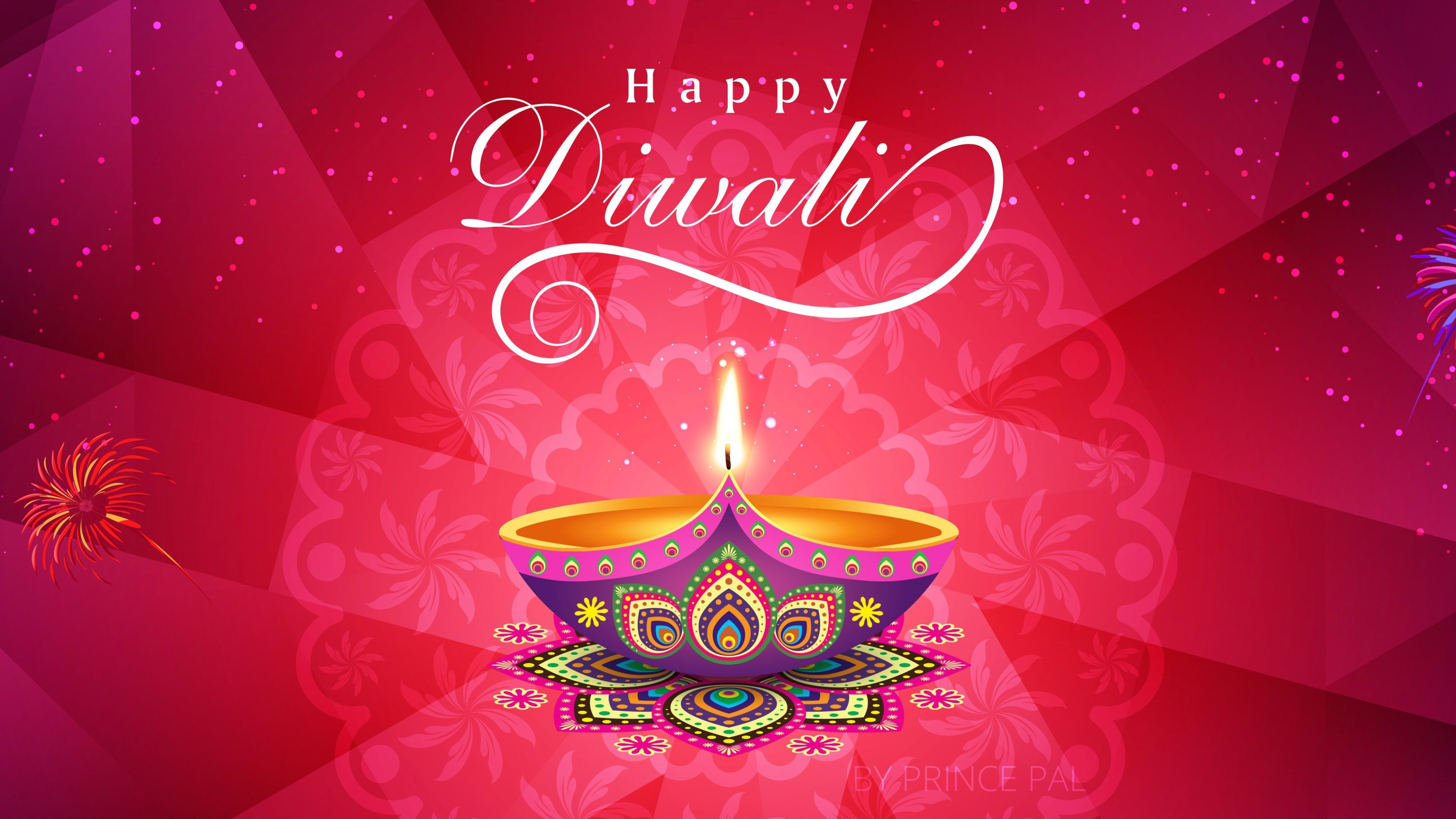3840x2160 happy diwali 4k windows wallpaper download