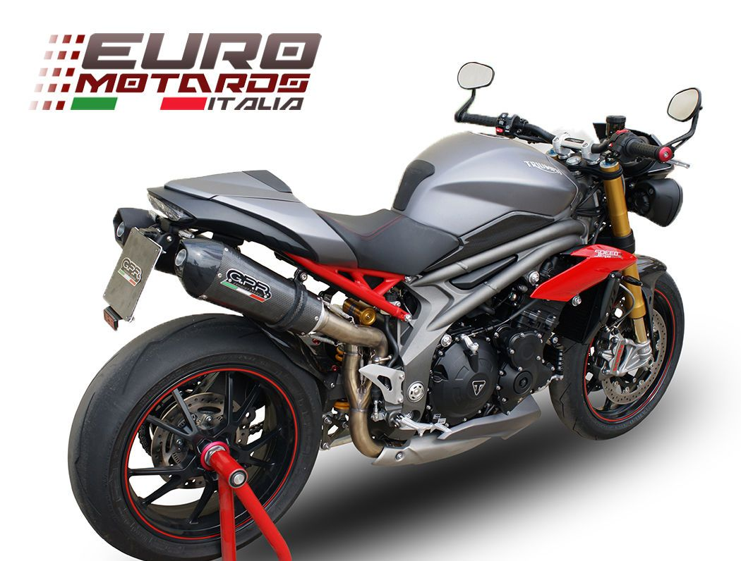 Details About Triumph Speed Triple 1050 R 2016 1in2 Gpr Exhaust