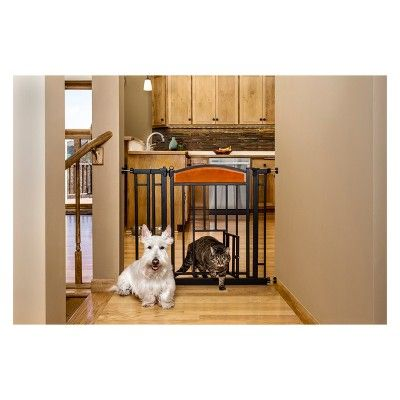 Carlson Design Studio Cat Dog Or Baby Gate Medium Cherryblack
