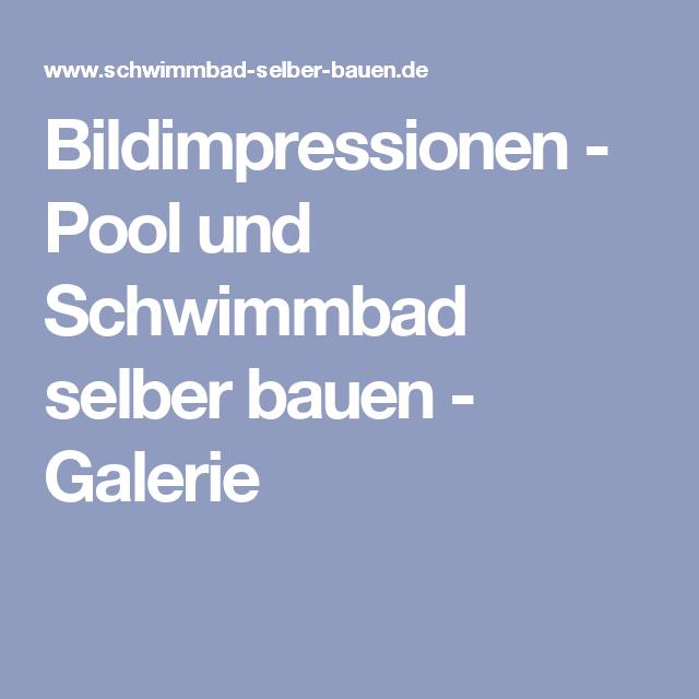 Bildimpressionen   Pool Und Schwimmbad Selber Bauen   Galerie