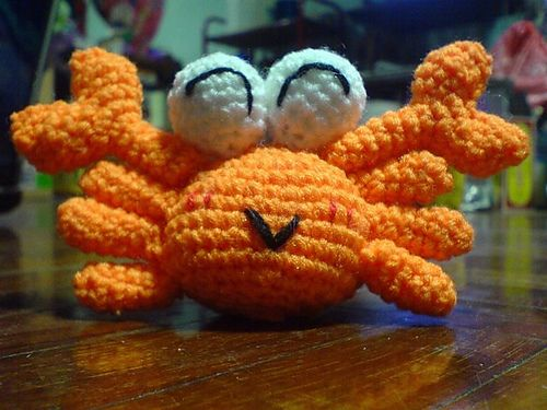 Ravelry: Orange Crabby pattern by Nareeporn Piroonsup ...