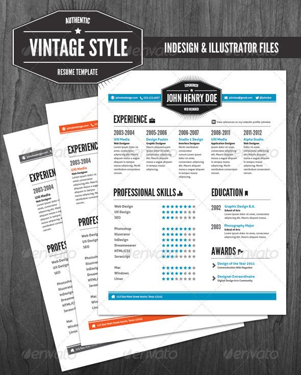 get the job resume writing tips and quality templates - Vintage Resume Template