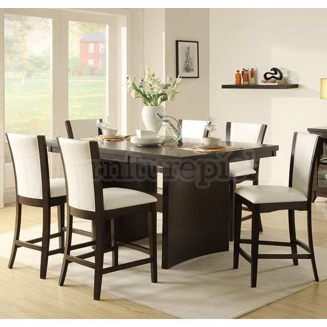 Awesome Fancy Counter Height Dining Room Tables 75 In Small Home Magnificent Height Dining Room Table Design Ideas