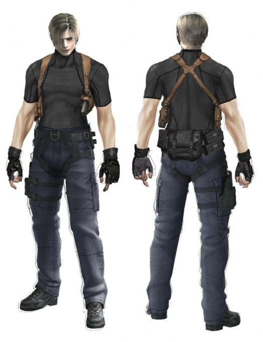 Image result for resident evil Leon cosplay costume