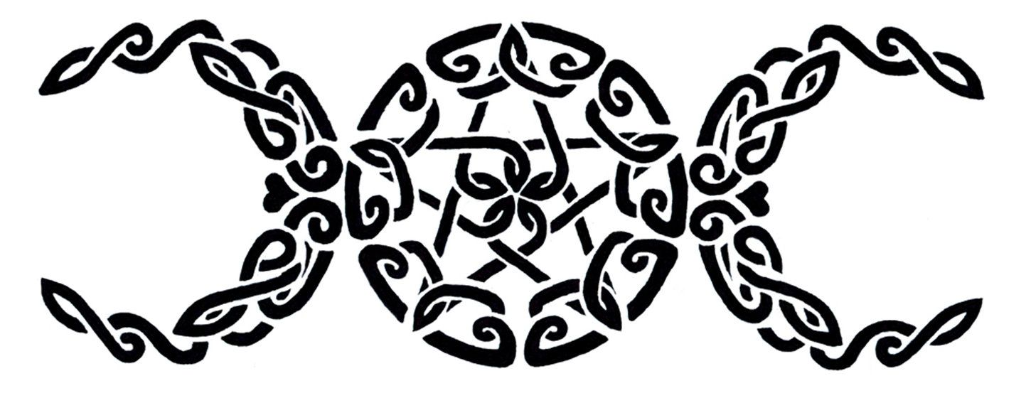 Celtic Triple Goddess Symbol