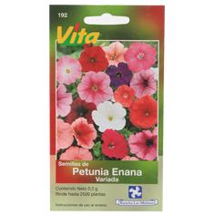 Semillas De Petunia Enana De 0 2 Gr Multicolor Vita The Home