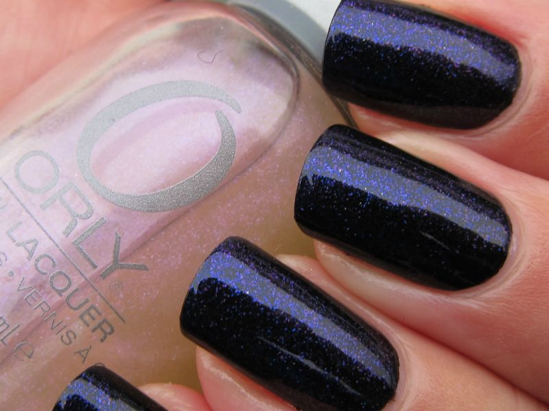 Orly Love Each Other Two Coats Over Black