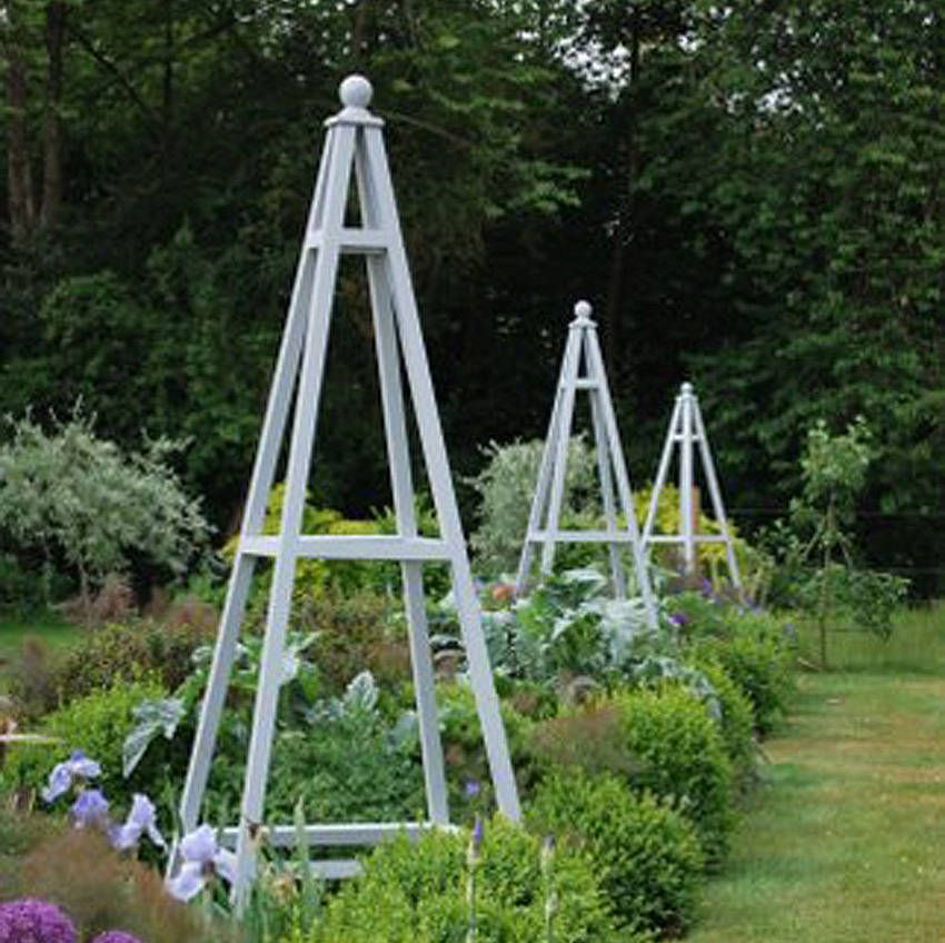 17 Best 1000 images about Garden obelisk on Pinterest Gardens Arbors