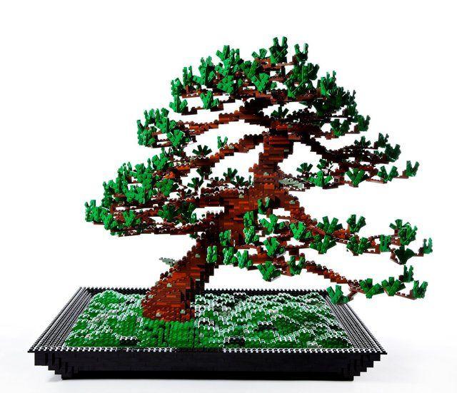 LEGO Bonsai Tree by Azuma Makoto